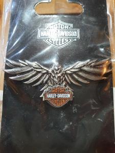 Harley Davidson Sběratelský Odznak