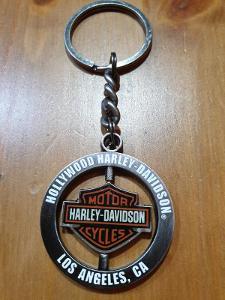 Harley Davidson Klíčenka