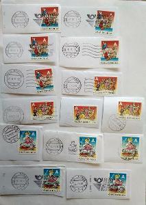Staré poštovní známky různé druhy