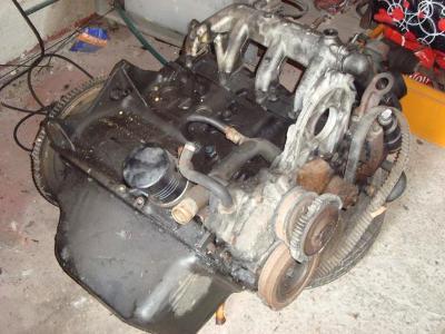 Ford Tansit motor nabídka - polomotor  2.5 td