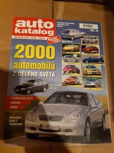 Auto katalog 2001 - česky