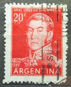 Argentina 1955 Generál Jose de San Martín Mi# 620 I 0097