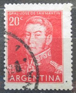 Argentina 1954 Generál Jose de San Martín Mi# 620 II 0097