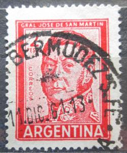 Argentina 1961 Generál Jose de San Martín Mi# 765 0097
