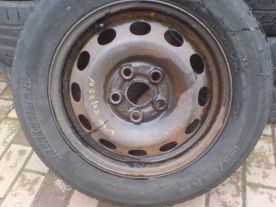 Letní pneu, 195/65/15 + disk VW