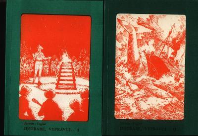 Jaroslav Foglar -  JESTŘÁBE, VYPRAVUJ I. a II. - dvě knihy