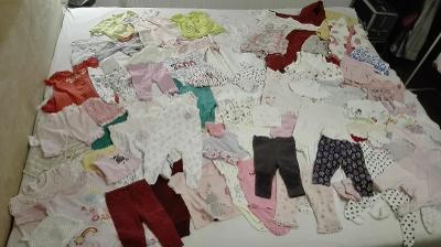 Mega set oblečení pro mimčo - 84 ks (0-9 měsíců)