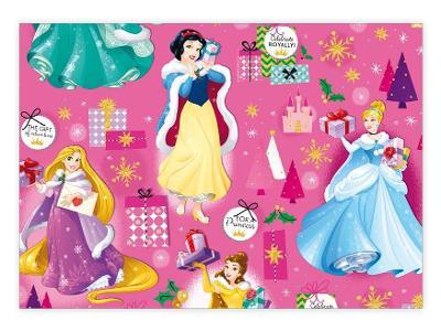 Balící papír  LUX YV024 Disney (Princess)