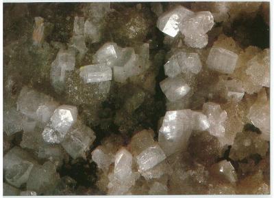 Pohlednice kameny , minerály , Heulandit , Kozákov