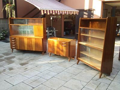 Retro nábytek,Brusel,skříň,komoda,knihovna
