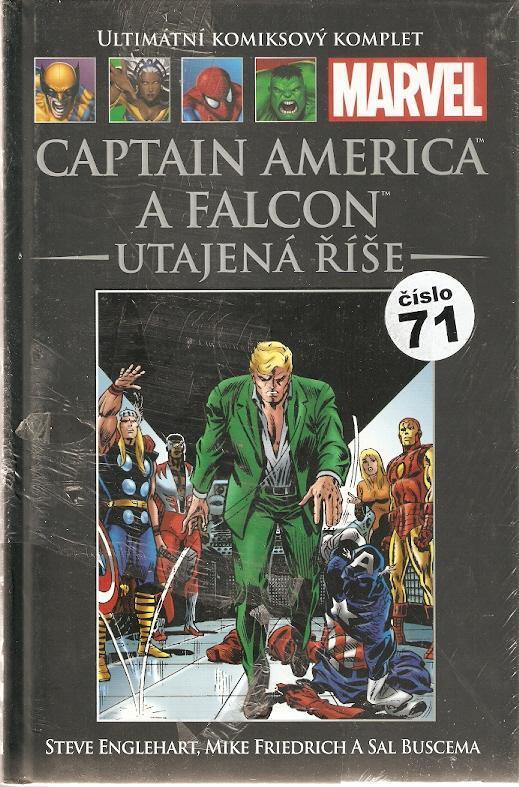 Marvel - Captain America a Falcon - Utajená říše (číslo 71) - Komiksy