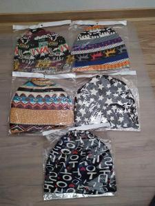 Multifunkční Čepice Šátek