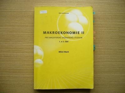 Miloš Mach - Makroekonomie II.   2001