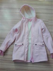 dívčí zateplená softshelová bunda
