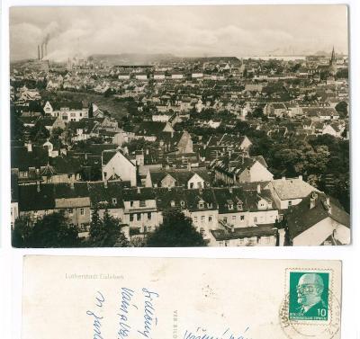 NĚMECKO , Lutherstadt Eisleben , prošlá známka DDR