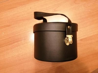retro kosmetický kufřík  prům.19 cm