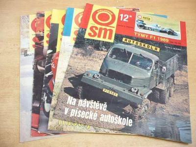 Časopisy SVĚT MOTORŮ 1989 (5 ks)