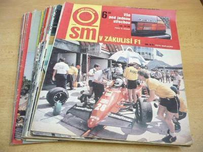 Časopisy SVĚT MOTORŮ 1988 (22 ks)