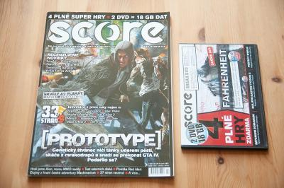 ***** Score č.185 (Červen 2009) + DVD ***** (PC)