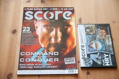***** Score č.186 (Červenec 2009) + DVD ***** (PC)