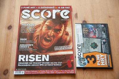***** Score č.189 (Říjen 2009) + DVD ***** (PC)