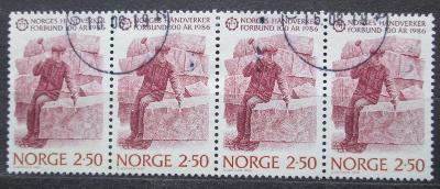 Norsko 1986 Kameník Mi# 944 1748