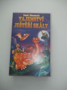TAJEMSTVÍ JEŠTĚŘÍ SKÁLY ***VHS