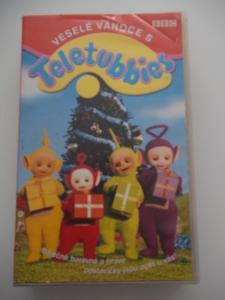 TELETUBBIES  VESELÉ VÁNOCE*****VHS