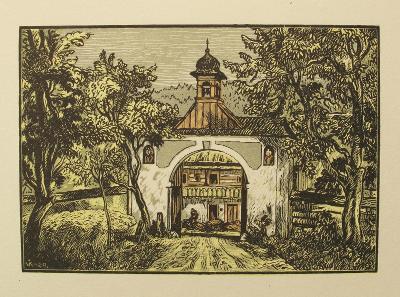 K. Vik - Dolánky 1929 - (J155)