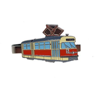 Kravatová spona - tramvaj ČKD Tatra T2 Brno