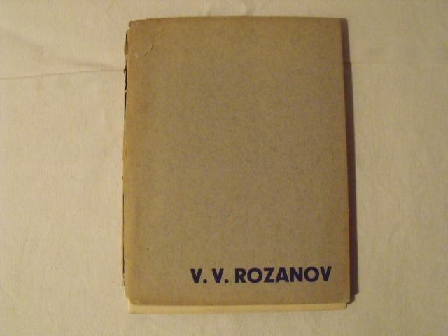 V.V.Rozanov - Osamocení II ( Josef FLORIAN) - Antikvariát
