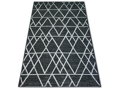 KOBEREC FLOORLUX SISAL 120x170cm 20508 black/silver #DEV763