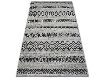 KOBEREC FLOORLUX SISAL 160x230 cm 20510 silver/black #DEV909