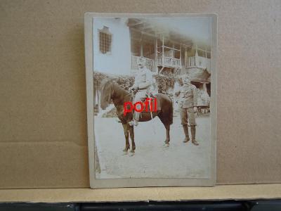 Voják na koni, kabinetka /291658/