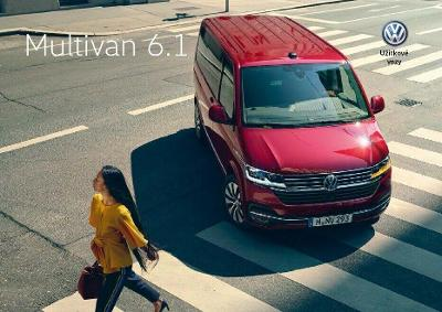 Volkswagen Vw Multivan 6.1 model 2020 prospekt 09 / 2019 CZ