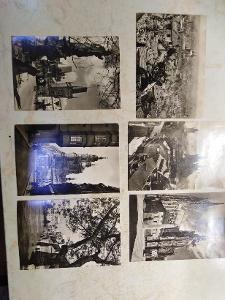 staré pohlednice Praha Illek a Paul Praha 6 kusů