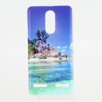 "Silikonový kryt na mobil LENOVO K6 ""moře"""