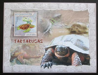 Mosambik 2007 Želvy Mi# Block 220 Kat 10€ 1761