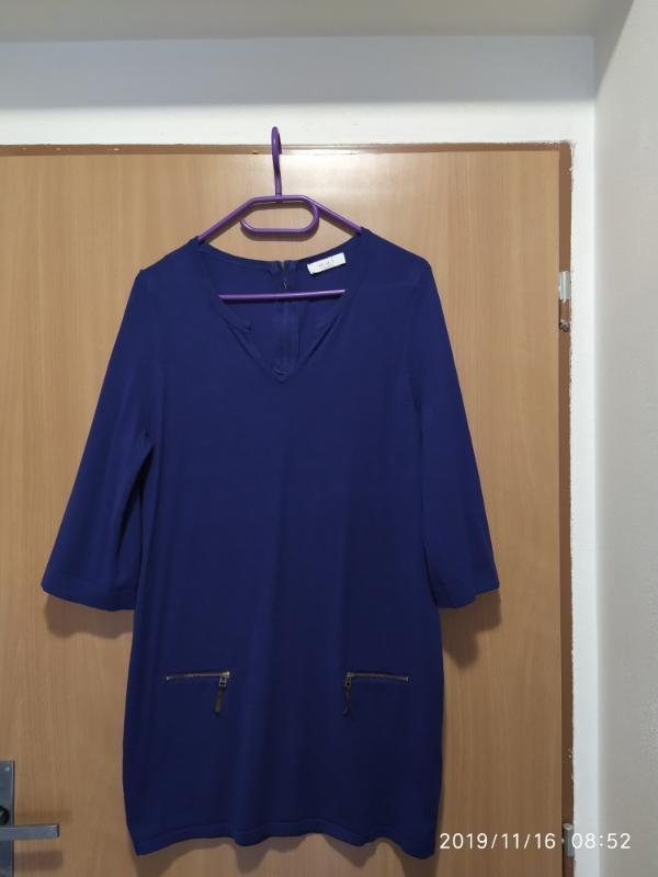 Dlouhý svetr s 3/4 rukávem - Dámské oblečení