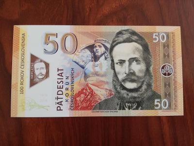50 korun československých Ľudovít Štúr - Matej Gábriš, stav N