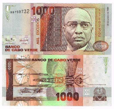 Kapverdy 1000 escudo 1989 P-60 UNC