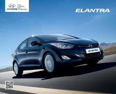 Hyundai Elantra prospekt 03 / 2011 PL