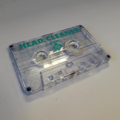 Audio Kazeta TDK Head Cleaner Cassette