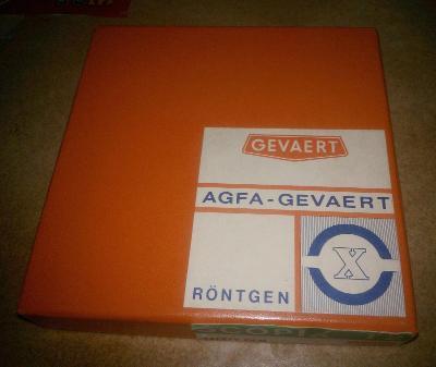 Stará krabička od filmu AGFA - GEVAERT