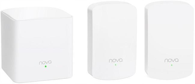 Směrovač Tenda Mesh Nova MW5 3 pack WI-FI AC1200