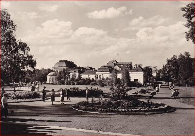 Františkovy Lázně * pohled na část města * Cheb * V518