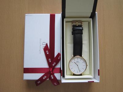 Daniel Wellington krásné hodinky.