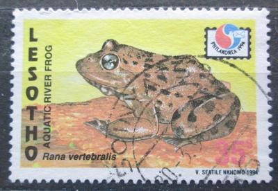 Lesotho 1994 Rana vertebralis Mi# 1095 0138
