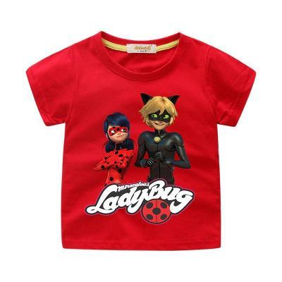 Kouzelná beruška a černý kocour - dětské tričko, různé velikosti