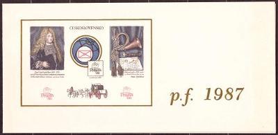 POF. VT 12 a) - VÝSADNÍ TISK PRAGA 1988 - 60 LET FIP (T8778)